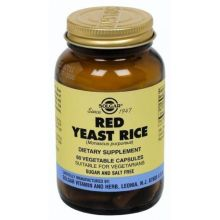 Solgar Red Yeast Rice 600mg Caps 60S