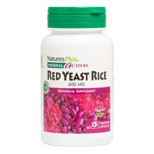 Nature's Plus Red Yeast Rice 600 mg X 60 Veggie Caps