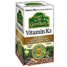 Nature's Plus Garden Vit.K2 120 mg X 60 Veggie Caps