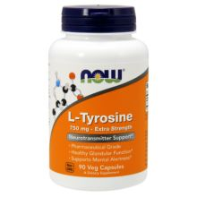 Now Foods L- Tyrosine 750 mg X 90 Caps