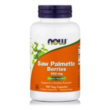 Now Foods Saw Palmetto Berries 550 mg X 100 Caps