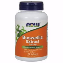 Now Foods Boswellia Extract 500 mg X 90 Softgels
