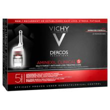 Vichy Dercos Aminexil Clinical 5 Men 6 ml X 21 Amps
