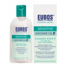 Eubos green Shower Oil F Sensitive 200 ml