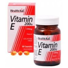 Health Aid Vitamin E 200 IU X 60 Caps