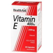 Health Aid Vitamin E 400 IU X 30 Caps