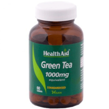 Health Aid green Tea 1000mgx 60 Tabs