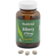 Health Aid Bilberry 275mg X 30 Tabs