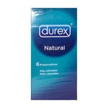 Durex Natural X 6 Τμχ