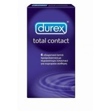 Durex Total Contact X 6 Τμχ