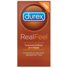 Durex  Real Feel  X 6 Tμχ