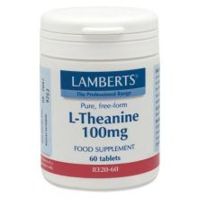 Lamberts L-Theanine 200 mg X 60 Tabs