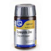 Quest Synergistic Zinc 15mg With Copper X 30 Tabs