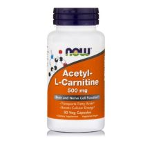 Now Foods Acetyl L- Carnitine 500mg X 50 Vcaps