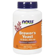 Now Foods Brewer's Yeast 650 mg X 200 Tabs