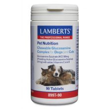 Lamberts Chewable Glucosamine Complex for Dogs and Cats 90 Tabls