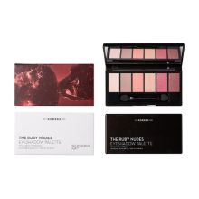 Korres Volcanic Minerals Eyeshadow Palette The Ruby Nudes 6 gr