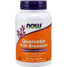 Now Foods Quercetin With Bromelain x 120 Vcaps