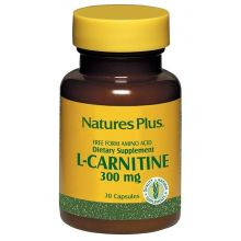 Nature's Plus L-Carnitine 300 mg 30 veg caps