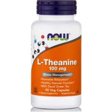 Now Foods L-Theanine 100mg x 90 VCaps