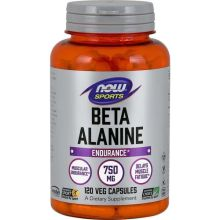 Now Foods Beta Alanine Endurance 750mg x 120 Vcaps