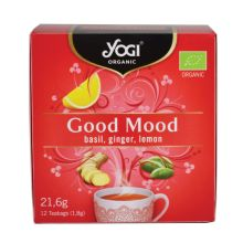 Yogi Tea Organic Good Mood 12 Teabags 24gr