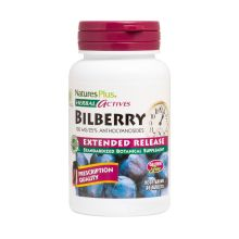Nature's Plus Herbal Actives Bilberry Extended Release 100mg 30Tabs