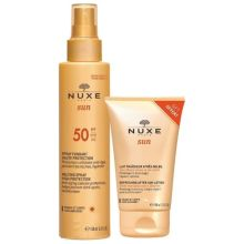 Nuxe Sun Milky Spray Spf 50 For Face & Body 150 ml + Δώρο Nuxe Sun Refreshing After-Sun Lotion 100ml