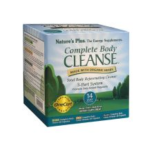 Nature's Plus Complete Body Cleanse 2 x 28 φυτικές κάψουλες & 1 x 81 φυτικές κάψουλες