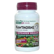 Nature's Plus Herbal Actives Hawthorne 300mg 30 ταμπλέτες