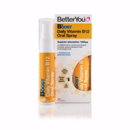 BetterYou Boost B-12 Oral Energy Spray 25 ml