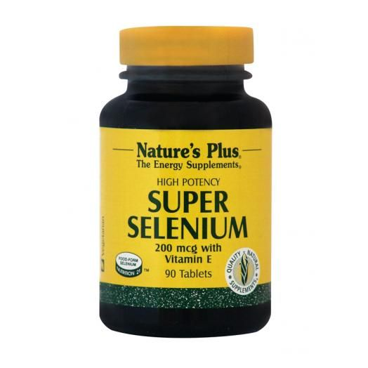 Nature's Plus Super Selenium Complex X 90 Tabs
