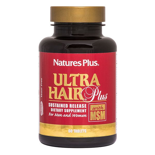 Nature's Plus Ultra Hair Plus X 60 Tabs