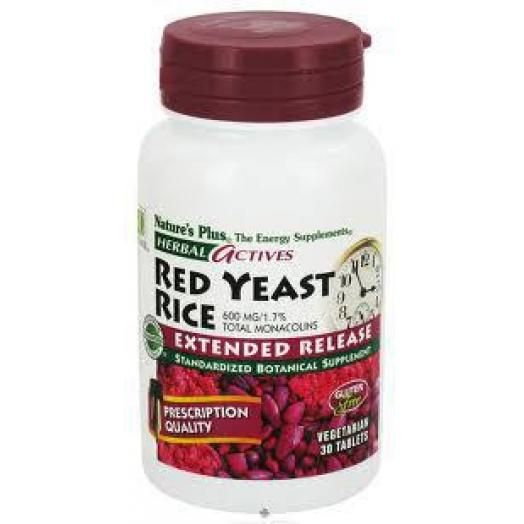 Nature's Plus Extended Release Red Yeast Rice X 30 Tabs