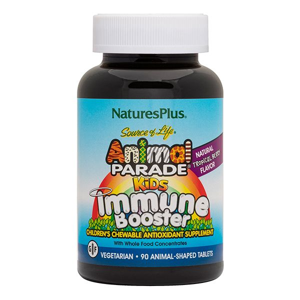 Nature's Plus Animal Parade Kids Immune Booster X 90 Chewabletabs