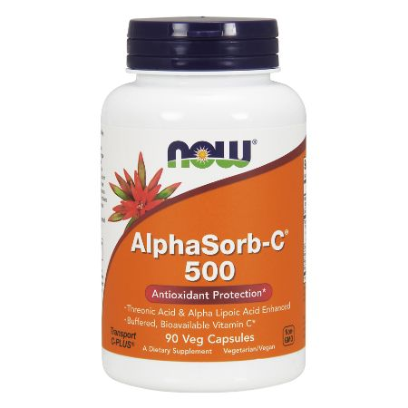 Now Foods Alphasorb-C 500mg X 90 Vcaps