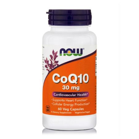 Now Foods Co-Q10 30 mg X 60 Vcaps