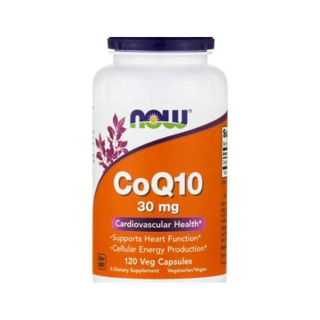 Now Foods Co-Q10 30 mg X 120 Vcaps