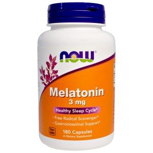 Now Foods Melatonin 3 mg X 60 Caps