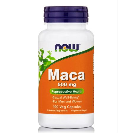 Now Foods Maca 500 mg X 100 Caps