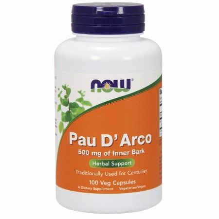 Now Foods Pau D' Arco 500mg X 100 Caps