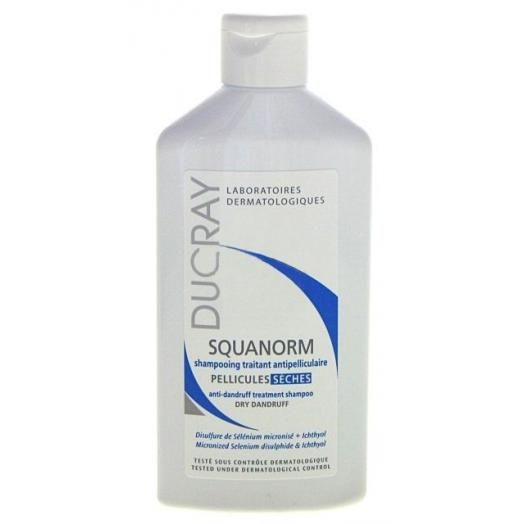 Ducray Shampooing Squanorm Ξηρή Πιτυρίδα 200 ml