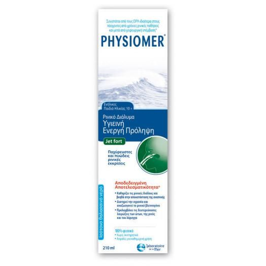 Omega Pharma Physiomer Jet Fort 10+ 210 ml