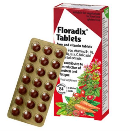 Power Health Floradix X 84 Tabs