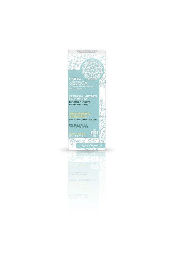 Natura Siberica Sophora Japonica Face Serum For Oily And Combination Skin 30ml