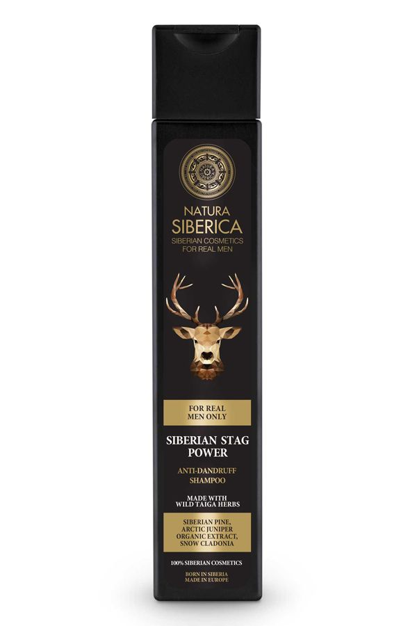 Natura Siberica Men Anti-Dandruff Shampoo Siberian Stag Power 250 ml