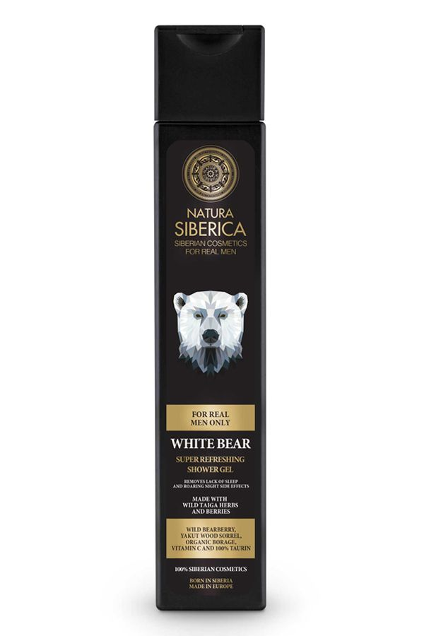 Natura Siberica Men Super Refresing Shower Gel White Bear 250 ml