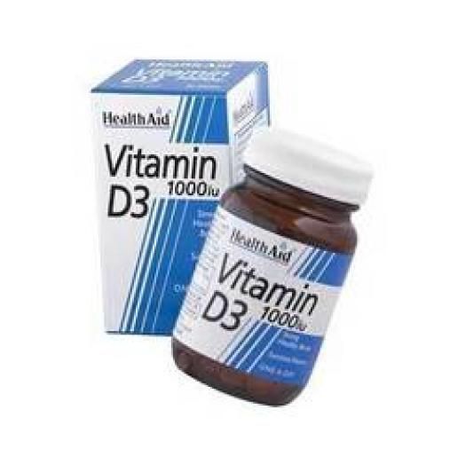 Health Aid Vitamin D3 1000 IU X 30 Caps