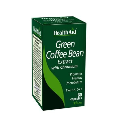 Health Aid green Coffee Bean X 60 Caps