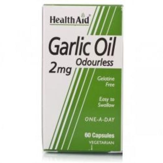 Health Aid Garlic Oil 2mg X30 Caps